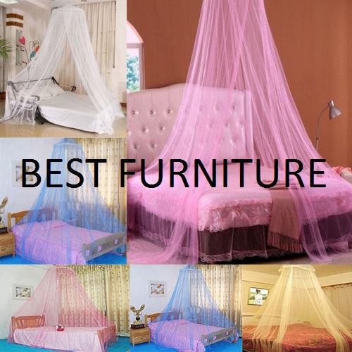 Best Princess Kelambu Bulat Kelambu Gantung Anti Nyamuk Mosquito Net - Random