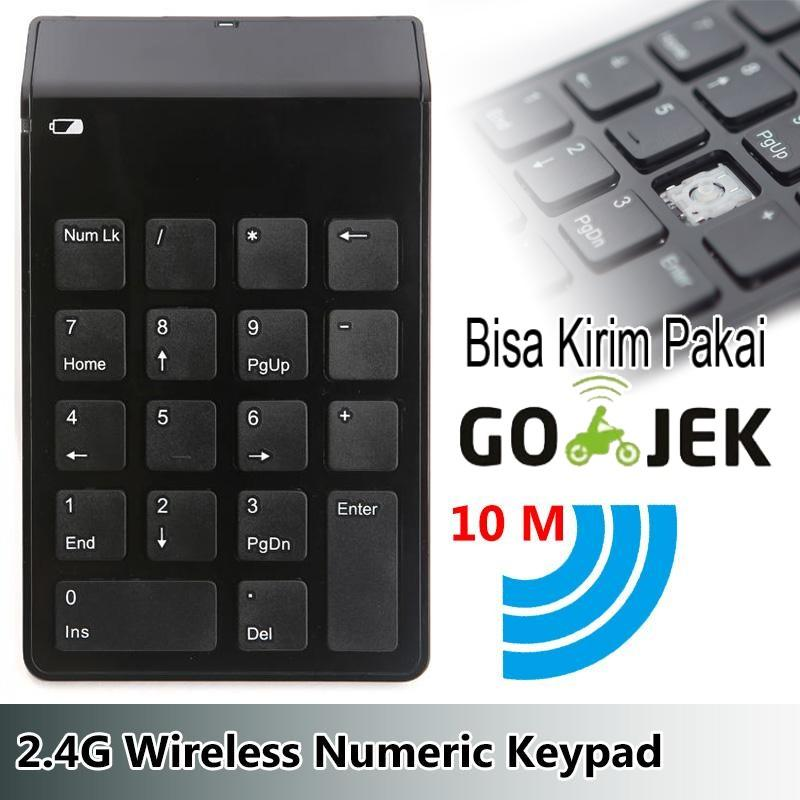 Keypad Mini Numeric Wireless 2.4GHz 10 Meter