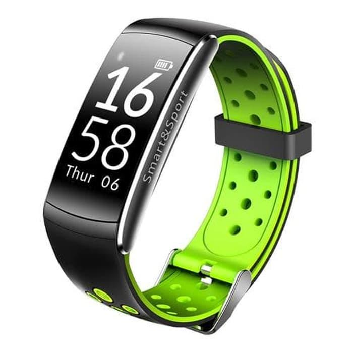 Lumin Q8 Smart Band Watch Jam Tangan Heart Rate Mi Band Xiaomi Fitbit