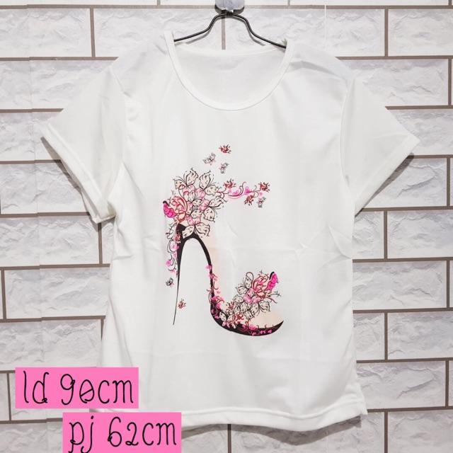 DAMAI FASHION JAKARTA  - baju atasan tshirt wanita CINDERELLA - baju murah konveksi tanah abang