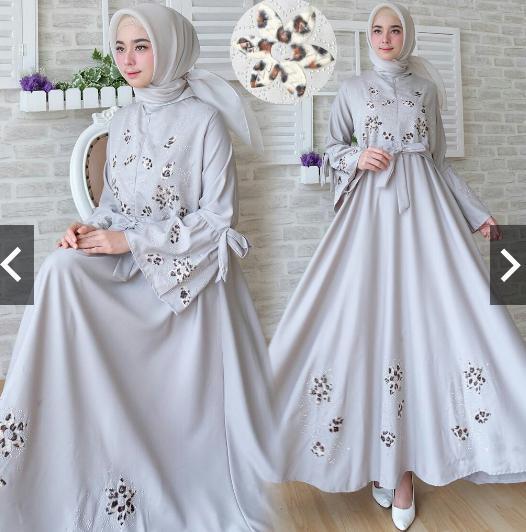 Cek Harga Baru Hijab Dress Premium Real Pic Gamis Kebaya Pesta Ori