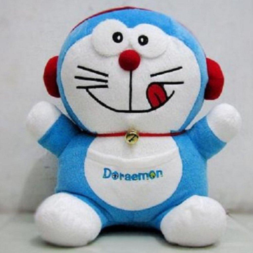 Fitur Boneka Doraemon Dorayaki High Quality Biru Boneka Koleksi Dan ... b551f4f50d