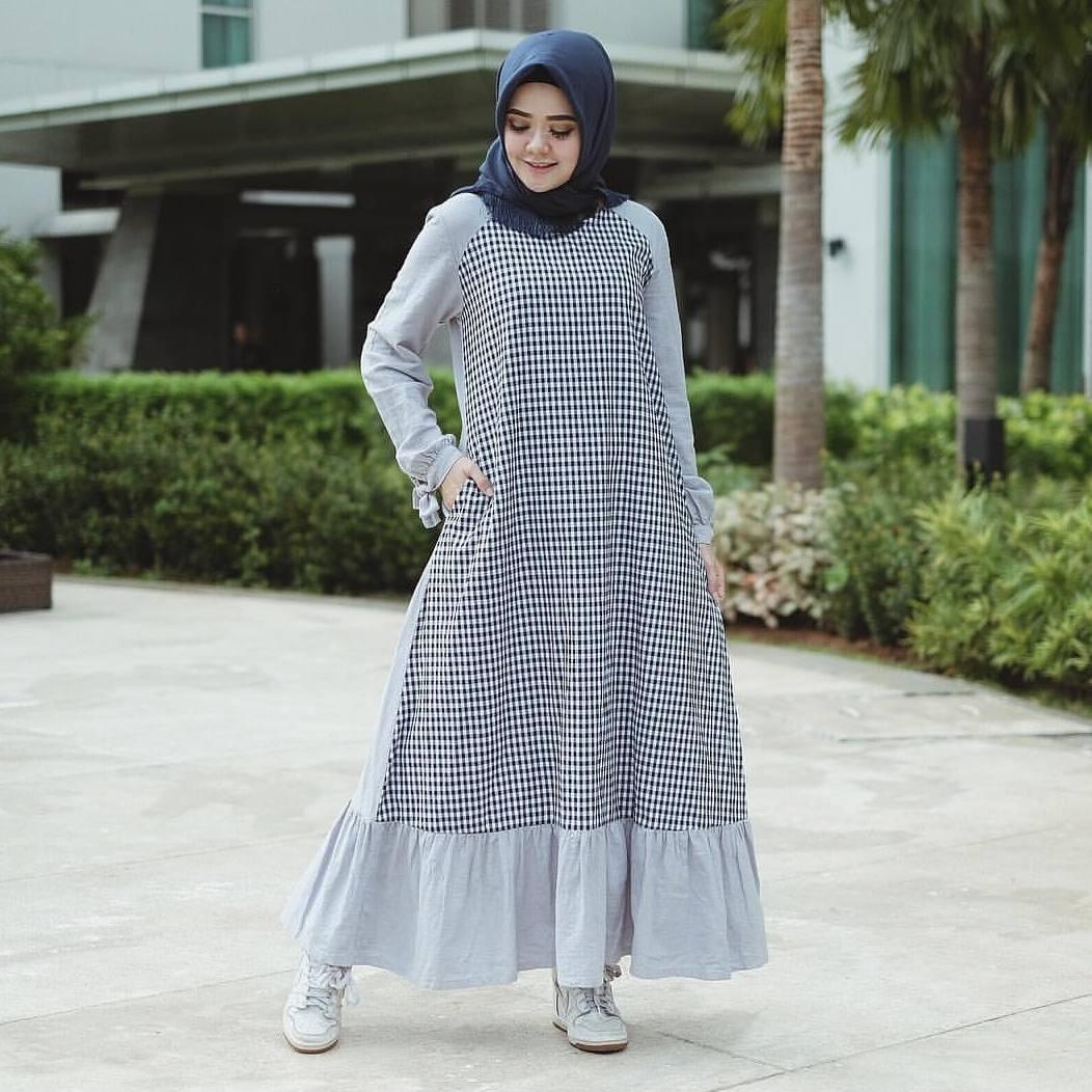 aae24a22bb14f5292fc0ecc468be7b6a Inilah List Harga Dress Muslim Kain Cotton Terbaru 2018