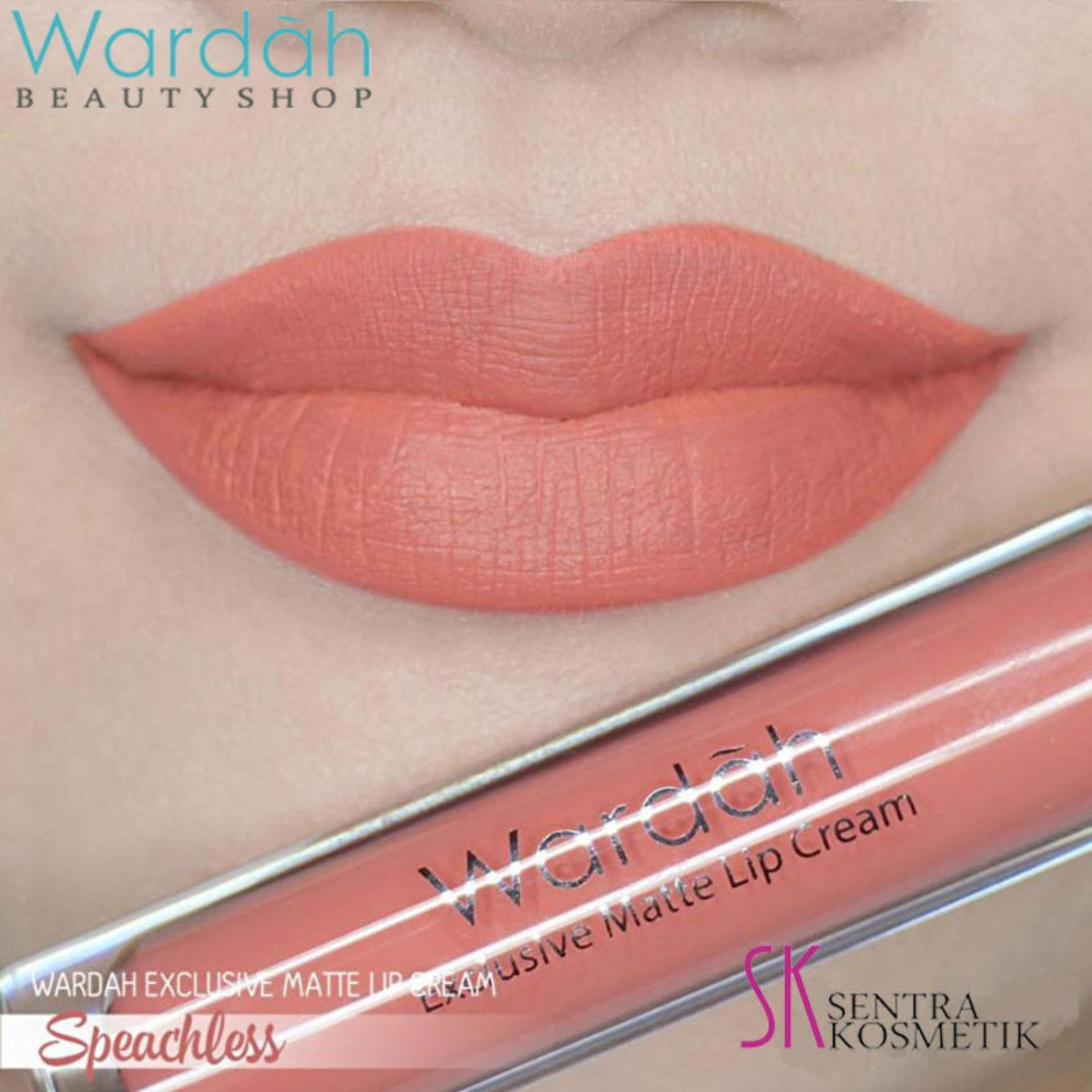 Wardah Exclusive MATTE LIP CREAM No 05 - SPEECHLESS