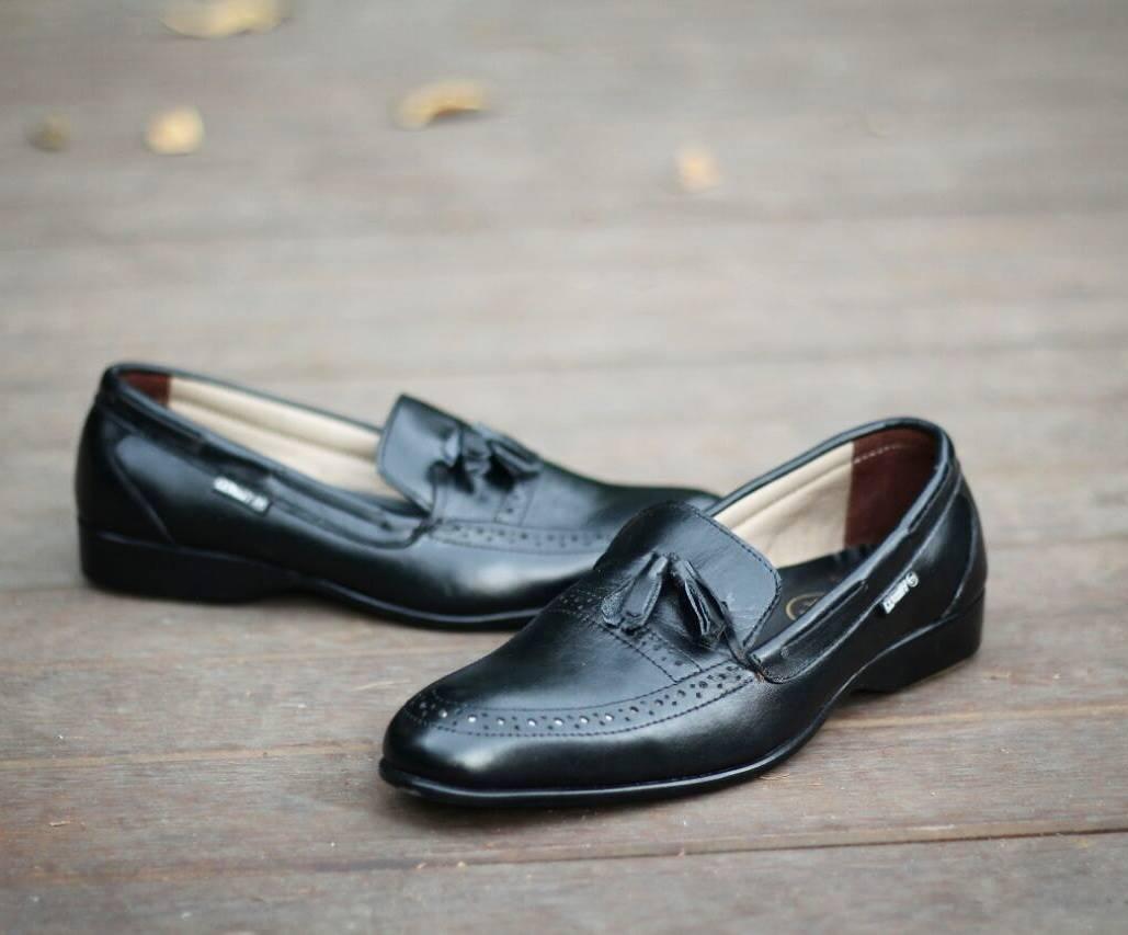 Sepatu Pantofel Pria Kulit asli premium quality original cevany footwear Derosa series leather formal shoes man