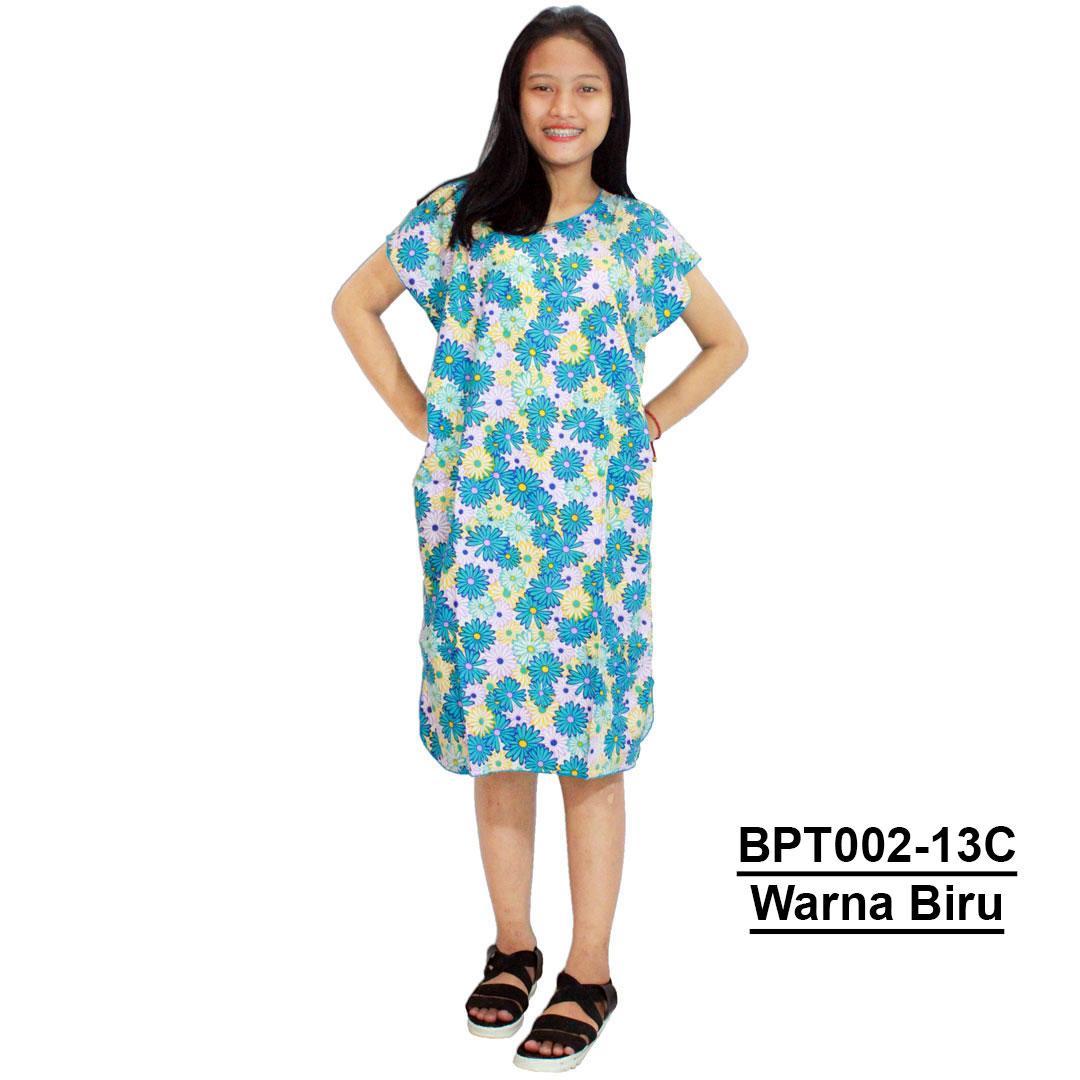 Midi, Daster Midi, Dress Santai, Baju Tidur, Piyama, Atasan Batik (BPT002-13) Batik Alhadi