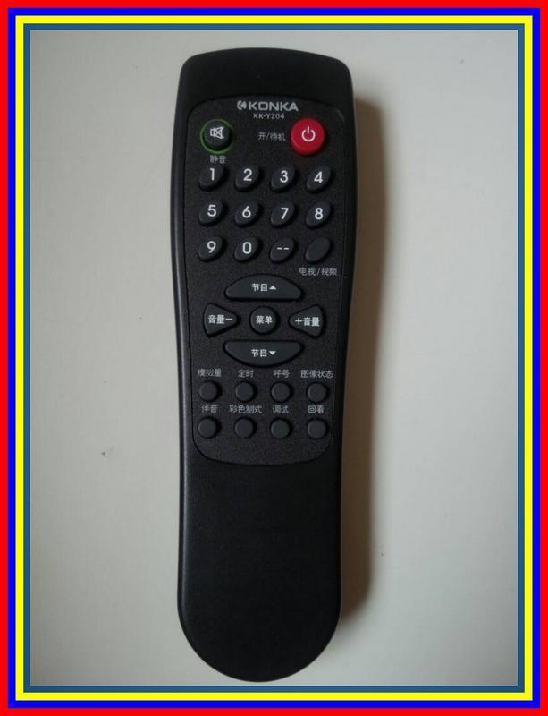 Remot Remote TV Tabung Konka Kky204 Ori Original