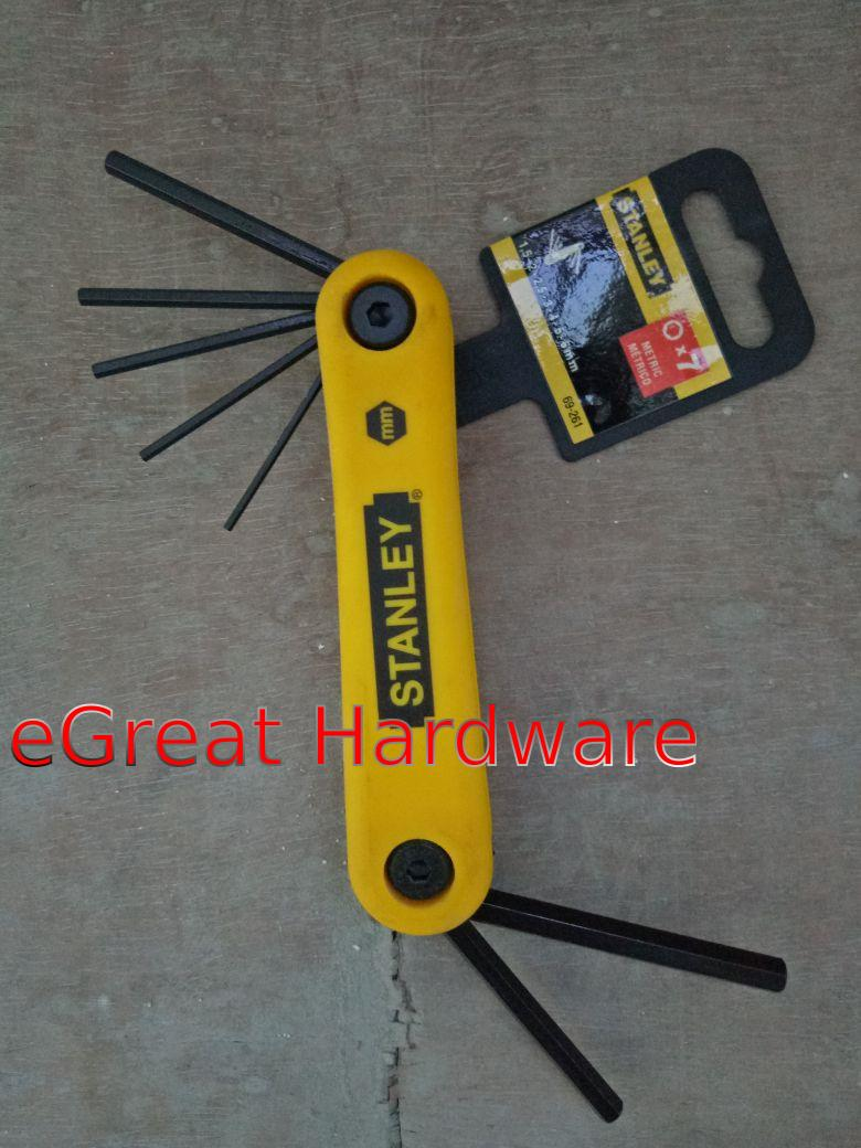 Daftar Harga Stanley Combination Wrench Set 8pcs 8 19mm Kunci Pas Ringpas Slimline 14 Pcs L Hex Key Allen 69261