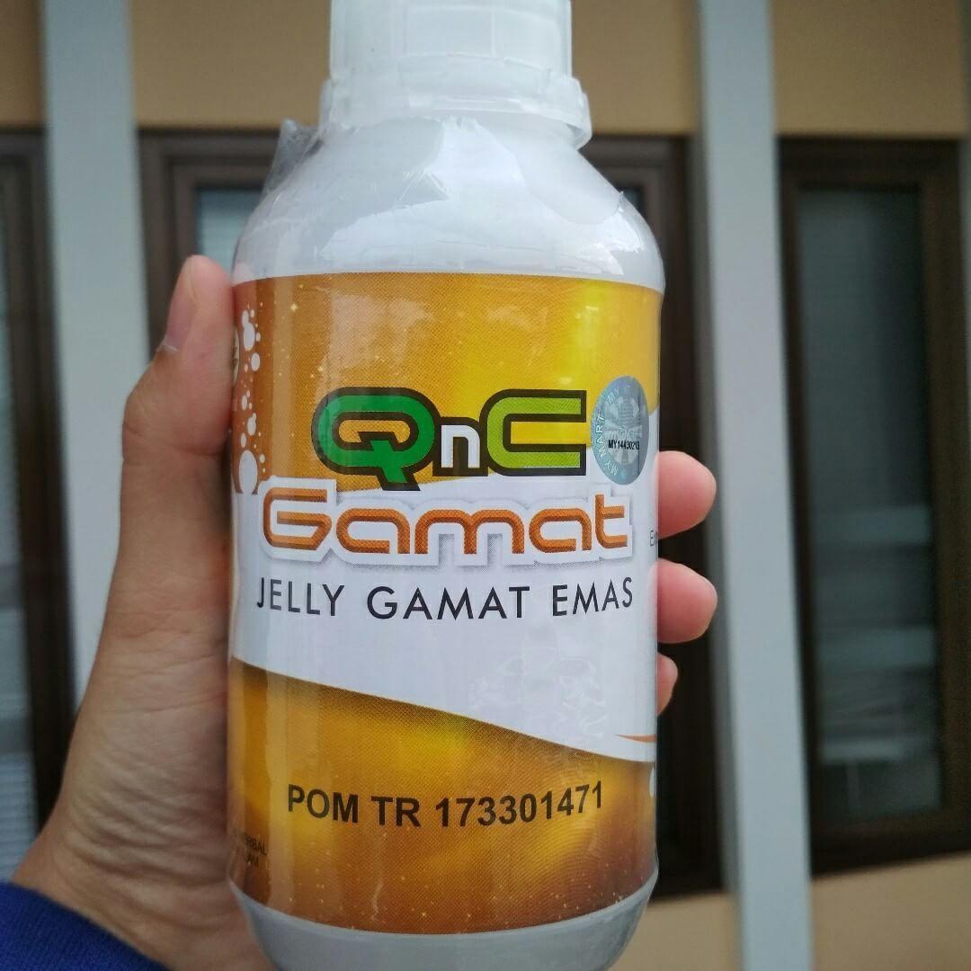 QnC Jelly Gamat Original - Obat Maag, Obat Maag Akut, Obat Maag Kronis, Obat Tukak Lambung, Obat Nyeri Ulu Hati, Obat Perih Di Lambung, Dll
