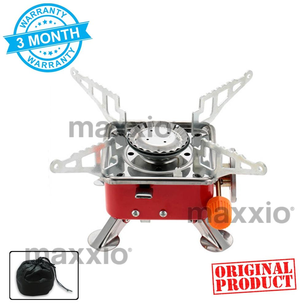 Kompor Camping Maxxio Kompor Gas Portable Stove Original Product Kompor Camping Garansi 3 Bulan FREE Carrying Bag