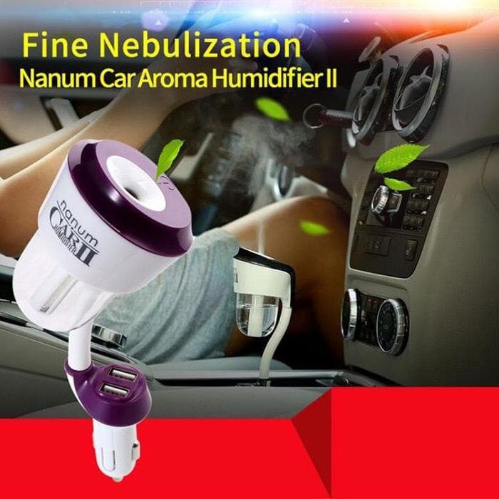 car humidifier nanum 2 air purifier usb pengharum ruangan mobil