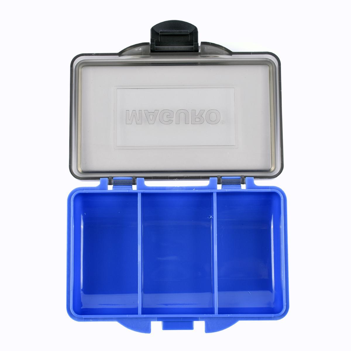 Kotak Pancing Maguro Carp Small Box 3 Compart Warna Biru