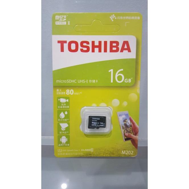 MMC TOSHIBA 16GB SDHC / MICRO SD TOSHIBA 16 GB / MEMORI HANDPHONE