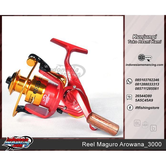 SPECIAL REEL PANCING SPINNING MAGURO AROWANA 3000 SPECIAL