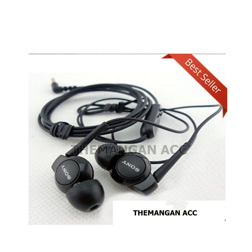Cek Harga Baru Headset Handsfree Earphone Sony Xperia Mh750 Mh 750 Ex300ap Stereo In Ear Black