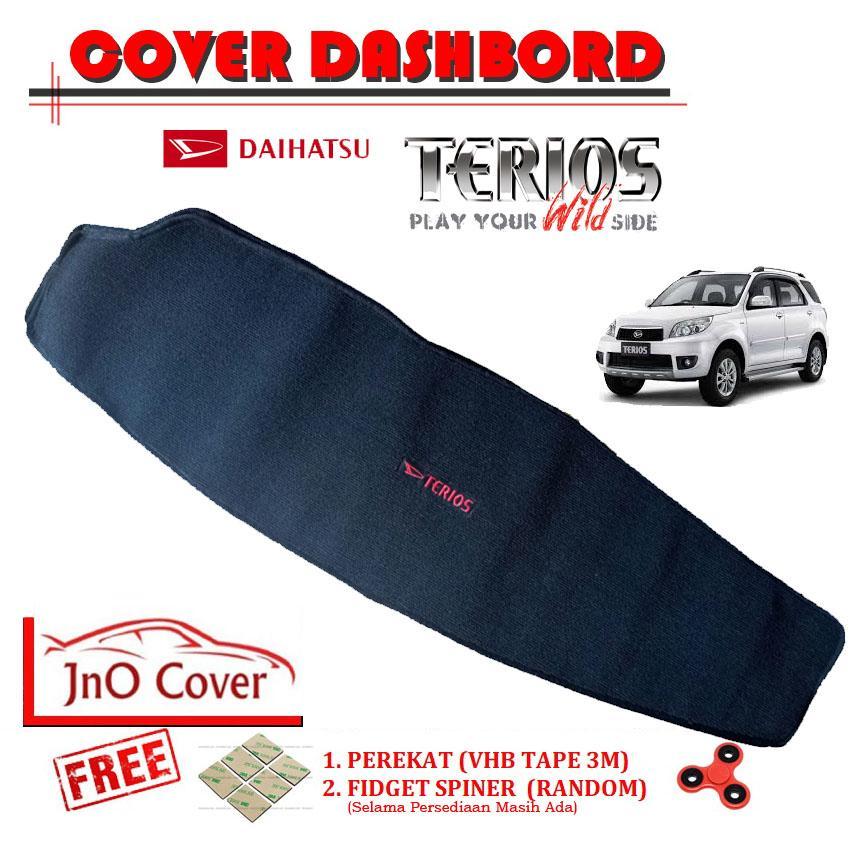 Cover Dashbord/ Pelindung Dashbord Daihatsu Terios [Hitam]