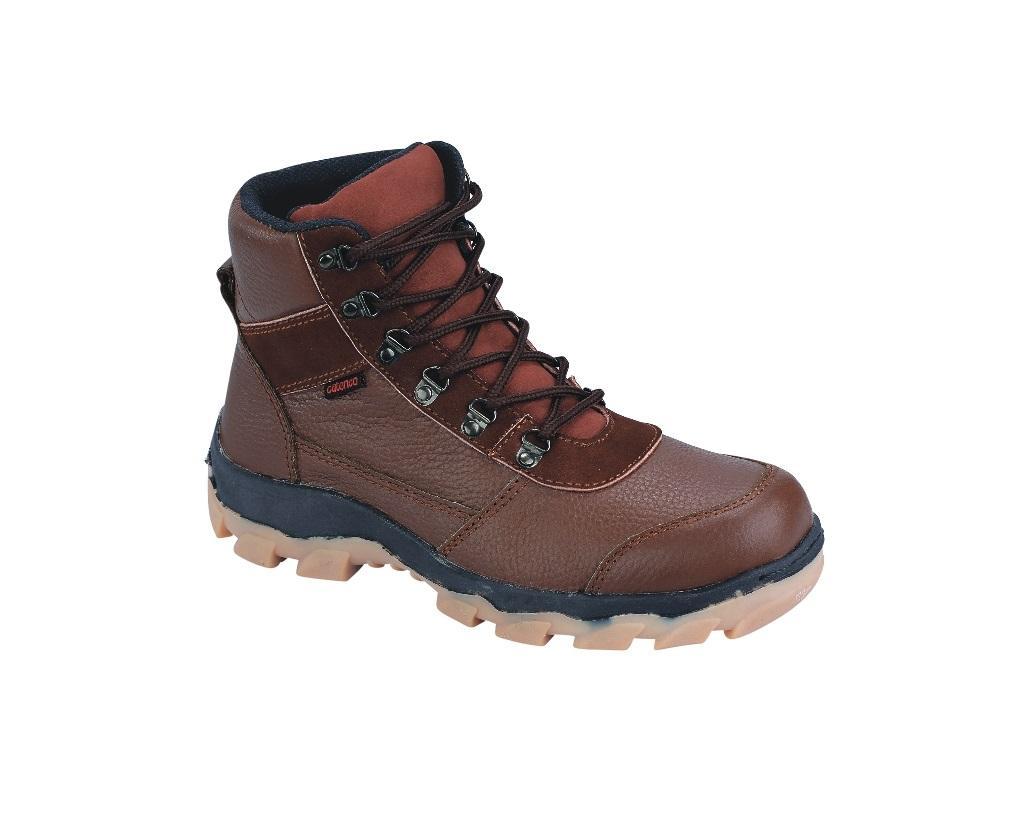 Promo Sepatu boot safety pria (sepatu safety kulit,Sepatu Cibaduyut) DO 023 Fashion