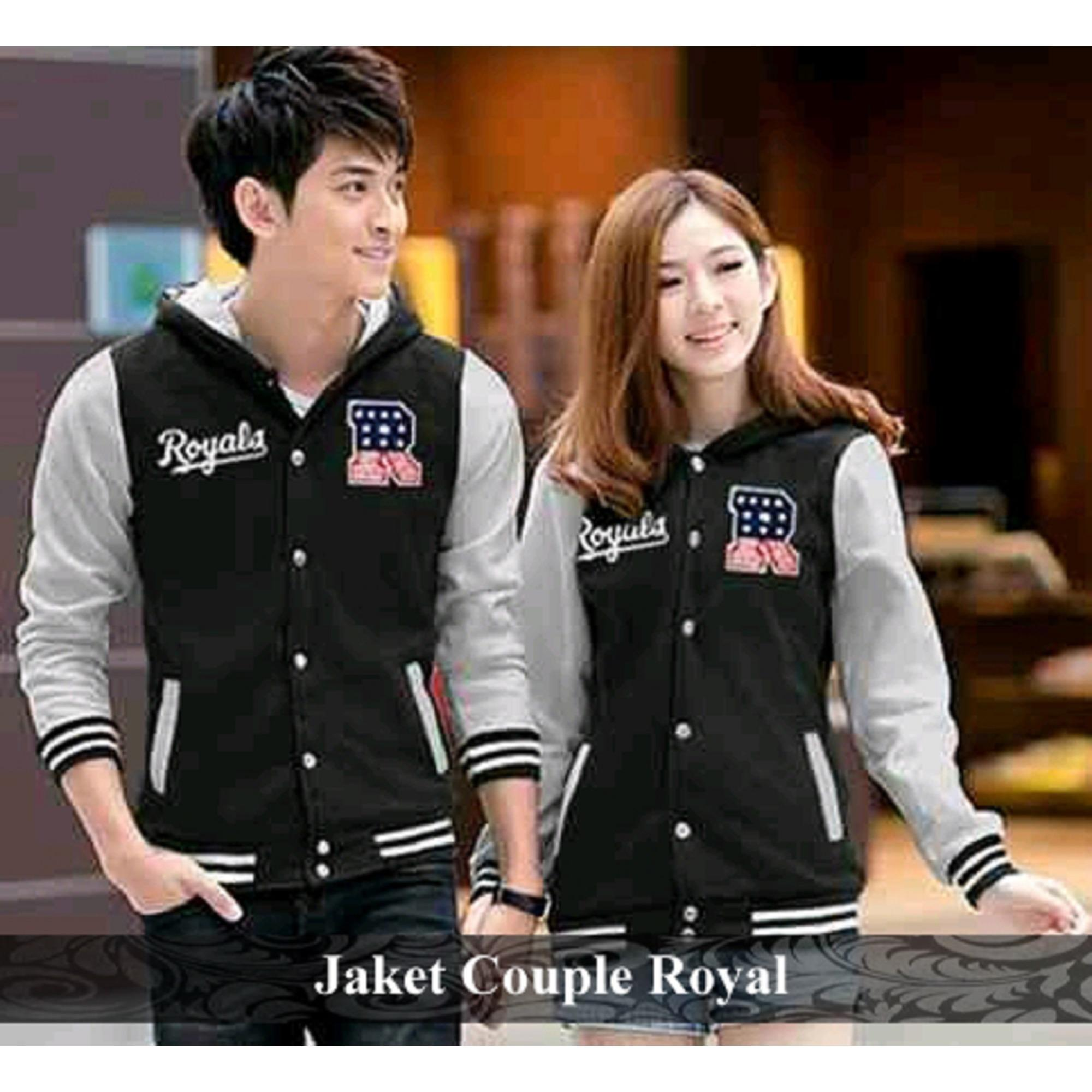Jual Couple Jaket - Jaket Pasangan Murah - Jaket Couple Royal