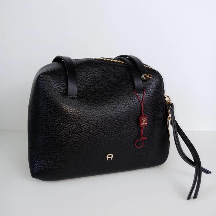 TAS AIGNER ORIGINAL - AIGNER SHOULDER BLACK