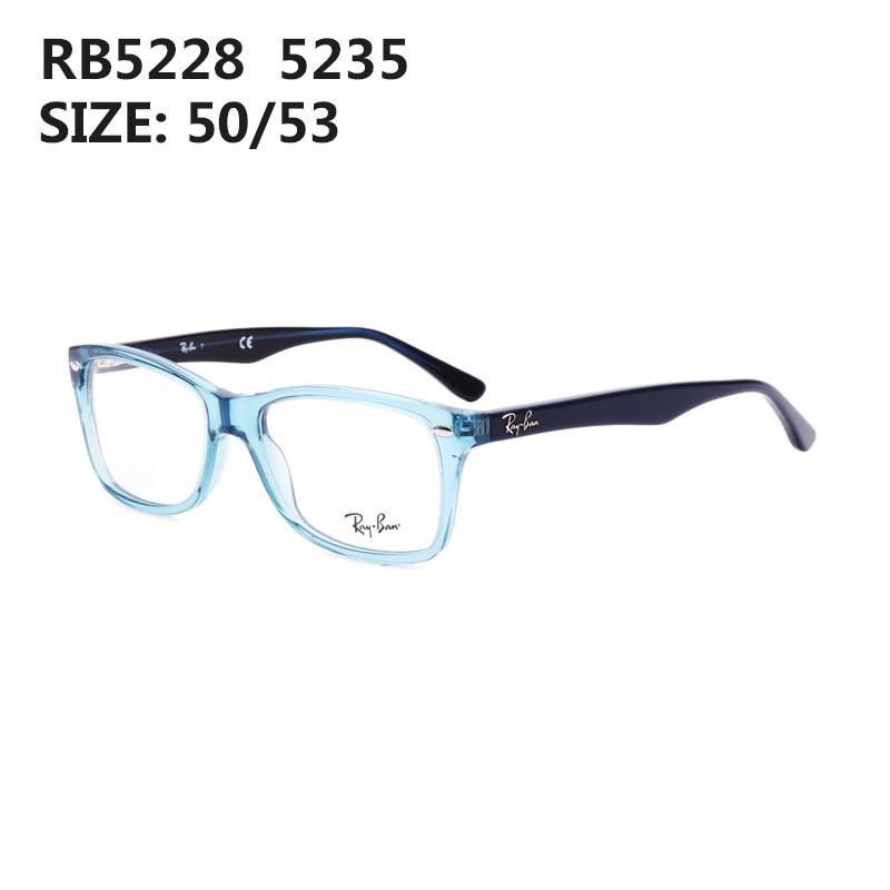 RayBan Frame Kacamata Bingkai Kasual Pria dan Wanita Piring Rabun Dekat