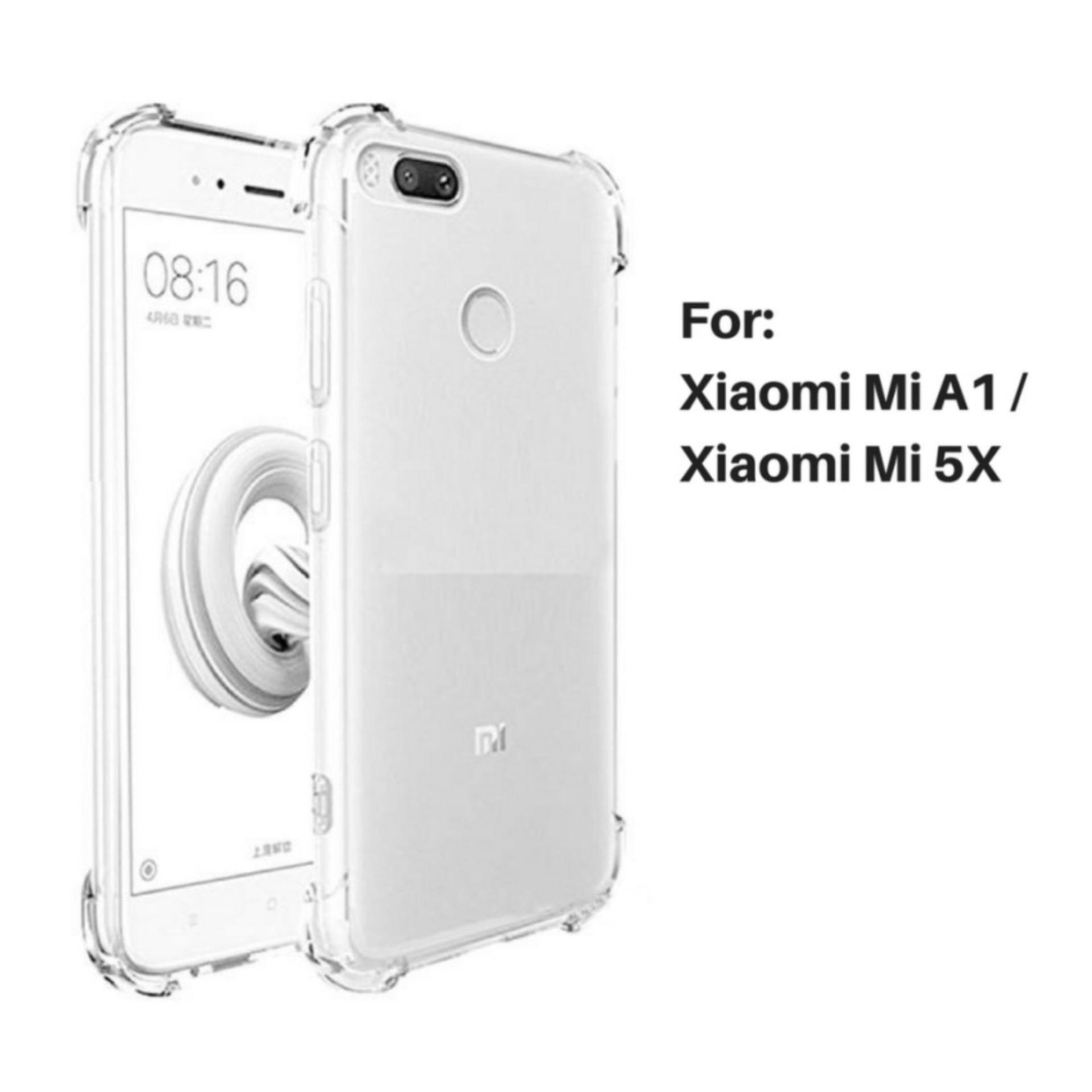 Jak Shop Soft Case Anti Crack / Anti Shock Case Xiaomi Mia1 / Mi5X 4G / Case Hp - Clear - Clear