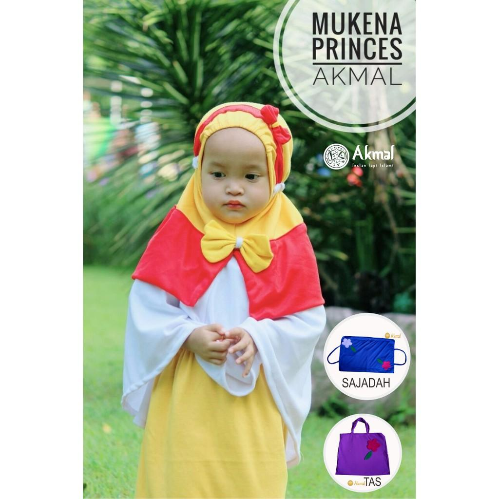 Mukena Anak Princes + Tas Sajadah Merk Akmal M