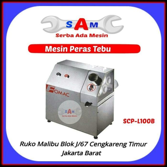 Mesin Peras Tebu SCP-L100B Fomac