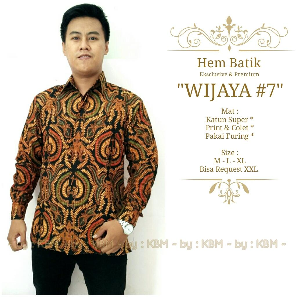 promo hem batik eksclusive dan premium wijaya #7