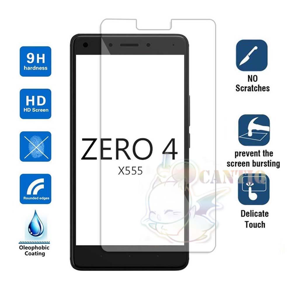 QCF Tempered Glass Infinix X555 Zero 4 / Anti Gores Kaca Infinix X555 Zero 4 /