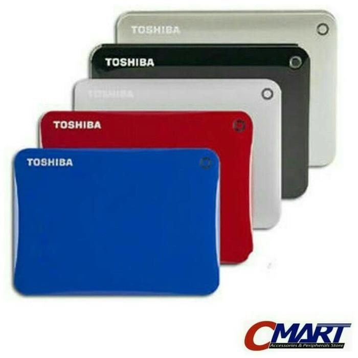 ORIGINAL - Toshiba Canvio Connect 500GB HDD Hardisk Harddisk Eksternal External