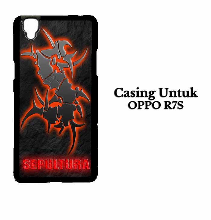 Casing OPPO R7S sepultura Hardcase Custom Case Se7enstores