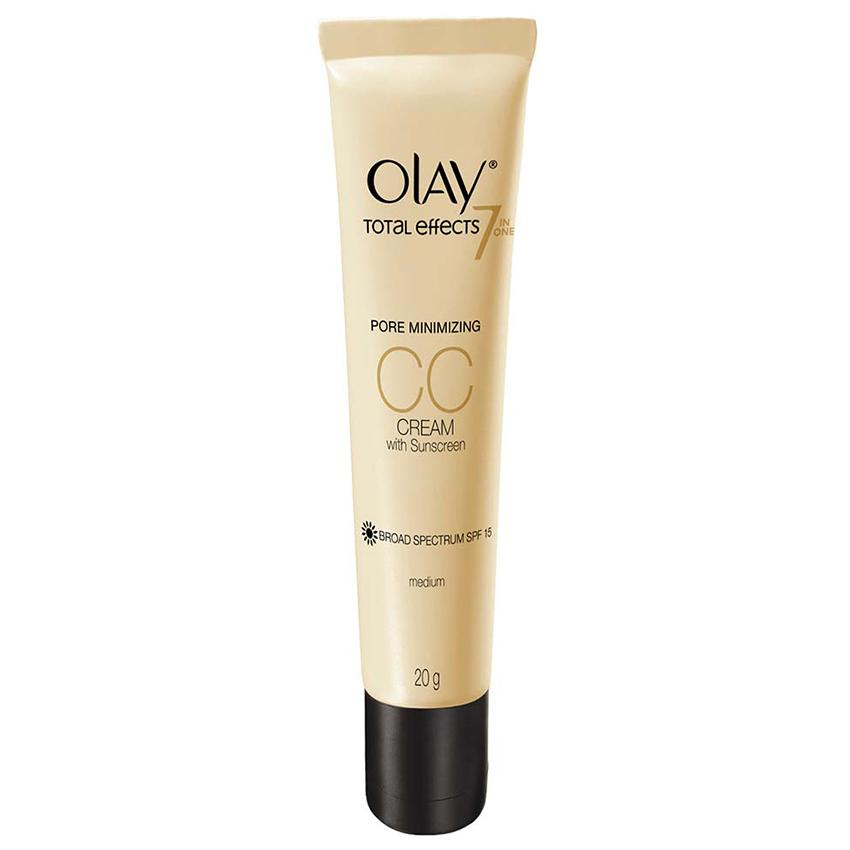 Olay Total Effect 7in1 One Pore Minimizing CC Cream SPF15 Medium 20gr Facial Care Perawatan & Kecantikan Kulit Wajah Terlaris