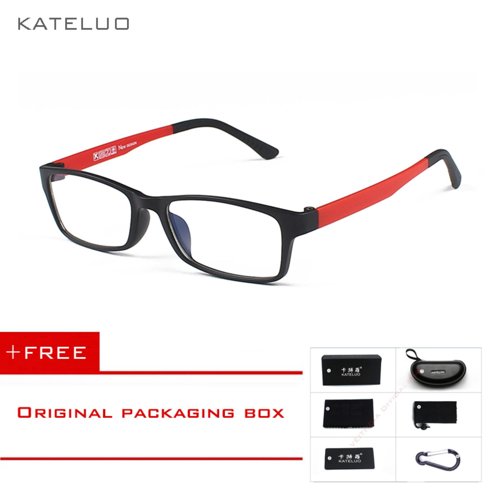 Kateluo Ultem Pei Tungsten Computer Goggles Anti Blue Laser Fatigue Radiation Resistant Eyeglasses Glasses Frame 1302 Lower Price