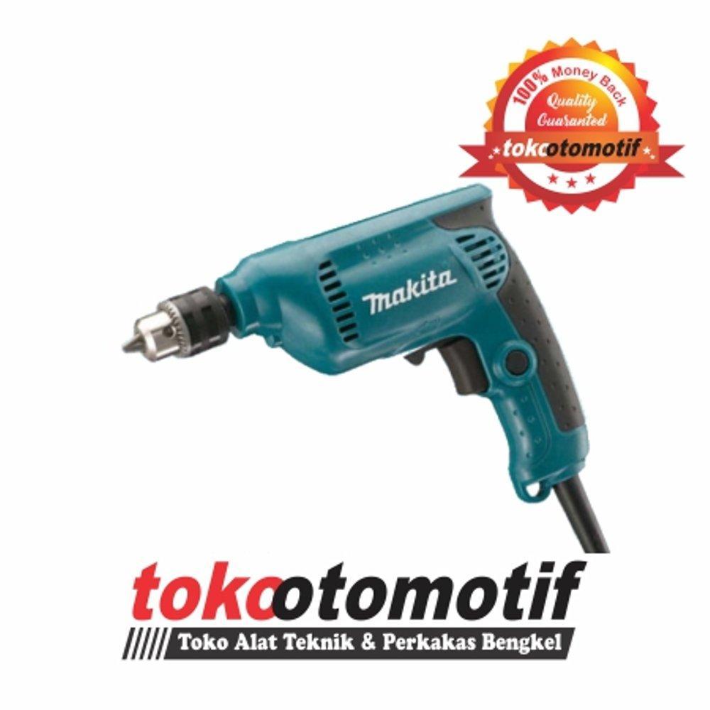 Mesin Bor Tangan MAKITA 6412 - 450 watt - 10 mm | Bor Listrik 2 arah