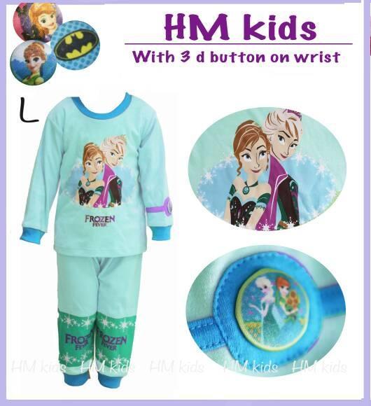 Piyama Anak Frozen / Piyama H&M Frozen / Baju Tidur Anak