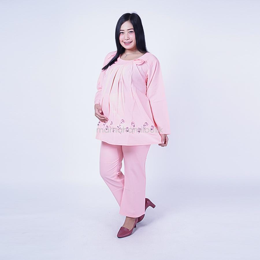 Mama Hamil Setelan Hamil PP Korsase Rose / Baju Hamil Untuk Kerja / Baju Hamil Muslim / Baju Hamil Seksi Baju Hamil Gamis / Baju Hamil Kerja Modis / Baju Hamil batik / Baju Hamil Menyusui