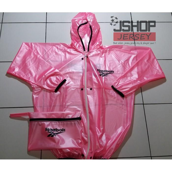 Best Seller - Jas Hujan Reebok Pink / Raincoat Reebok New - M4yvhj