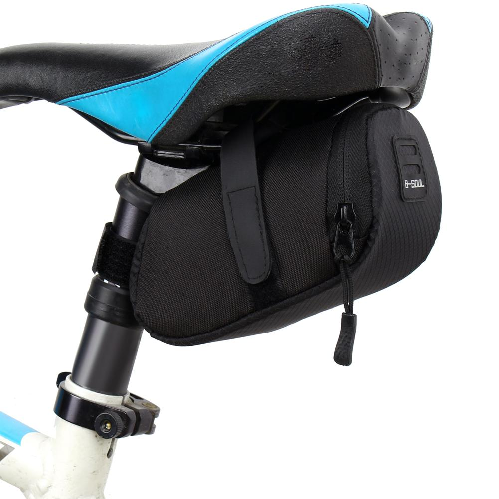 Bicycle Bike Waterproof Storage Saddle Bag Seat Cycling Tail Rear Pouch By Dorothymohney.