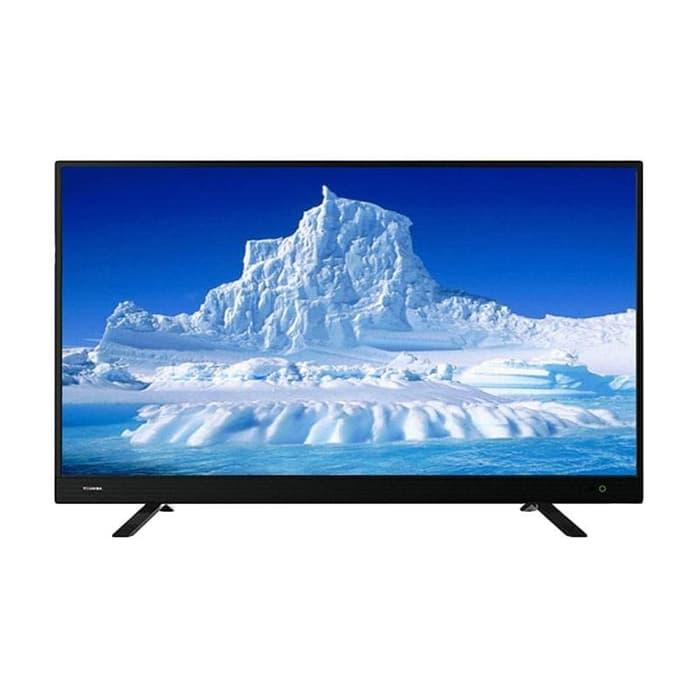 TOSHIBA 32L3750 DVB-T2 Digital LED TV - Hitam [32 Inch]