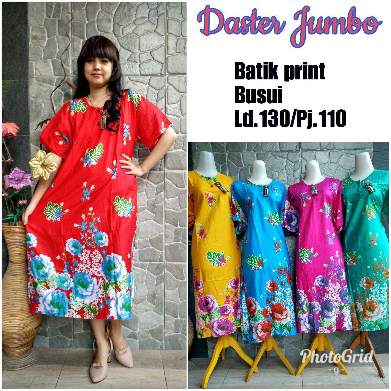 Daster Midi Batik Print Bpt002 06a Page 3 Daftar Update Harga Dress Corak Modern Nyaman Dipakai Jumbo Bunga Ld 120 124 80kg