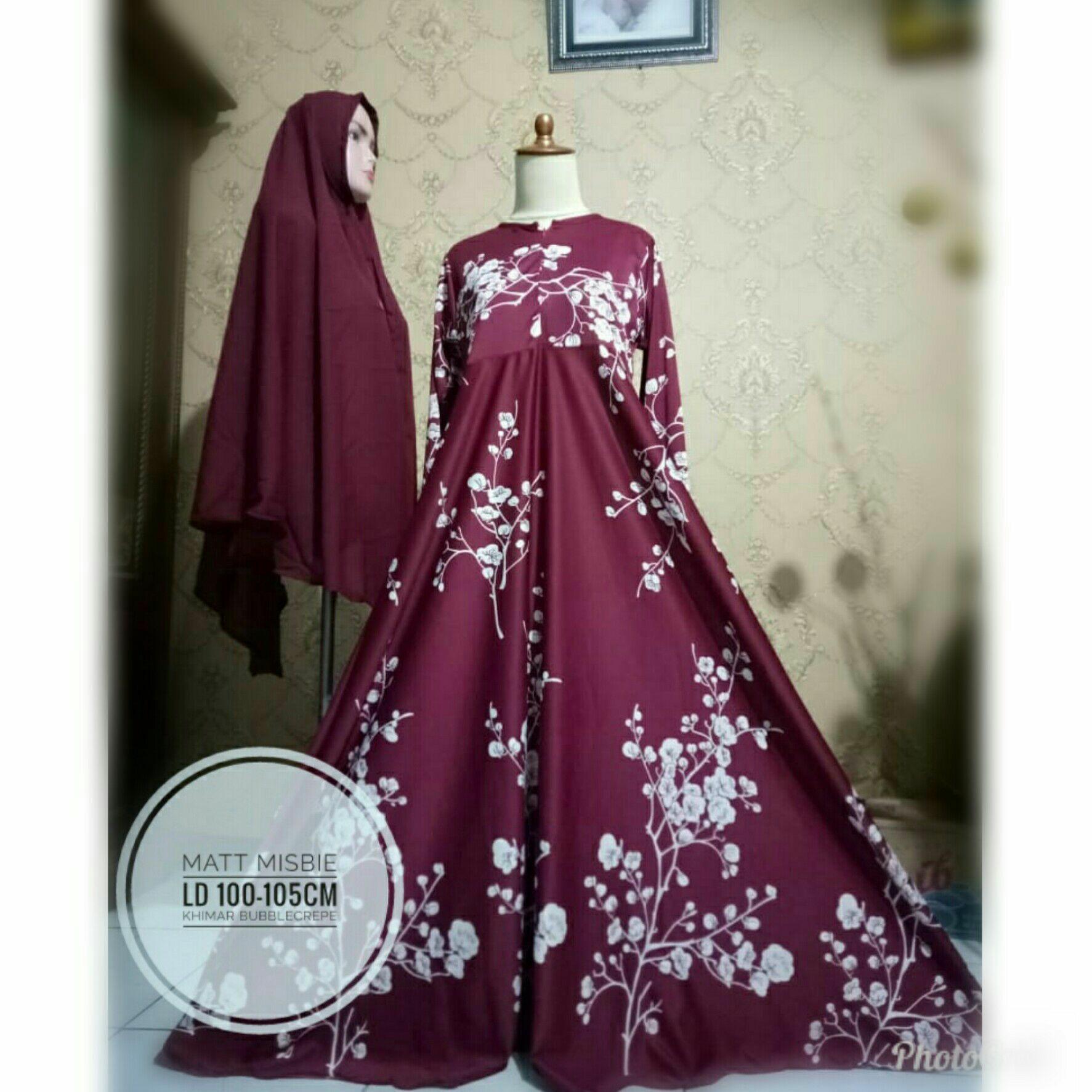 af3b6e090b7c203f8d11fe40cd61a4d8 Kumpulan Harga Dress Muslim Terbaru 2014 Terbaru saat ini
