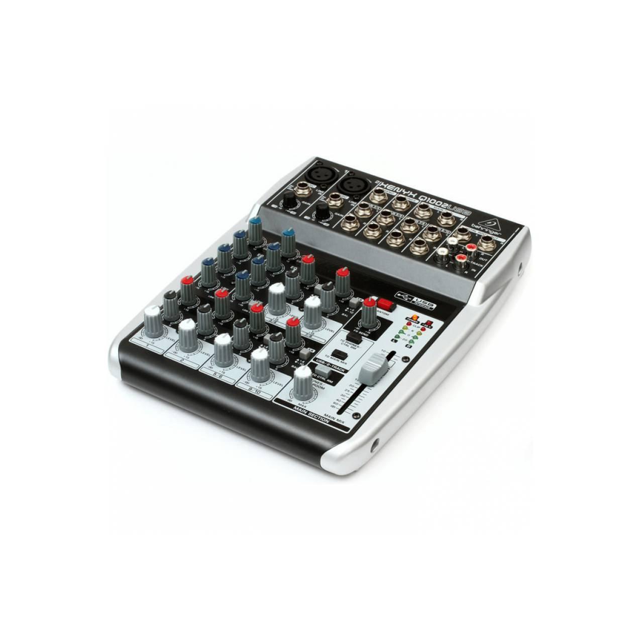 Behringer QX1002 USB Mixer Analog QX 1002USB promo murah ori garansi