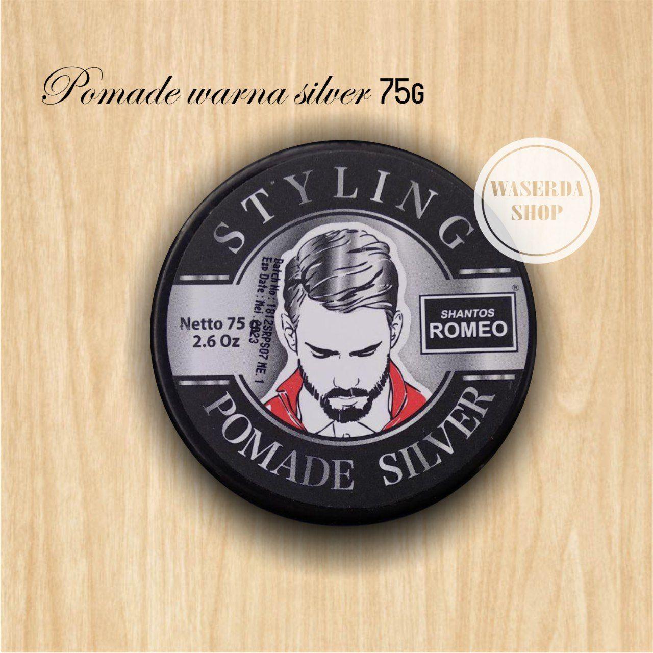 Shantos Romeo Styling Pomade Produk Terbaik Wiki Harga Classic Oilbased Oil Based Free Sisir Saku Hair Wax Minyak Rambut Warna Silver 75g