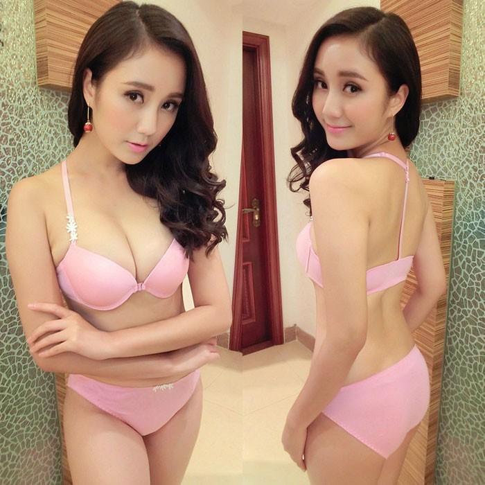 Jual Bra Set Pink size 34B HB0Y09PK-34B Kode Bangsa-ai148