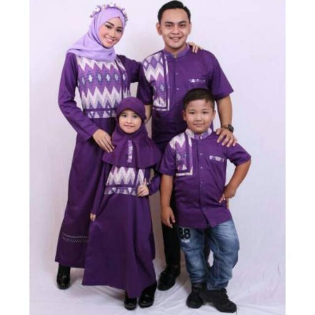 SR.D04 Sarimbit modern couple muslim seragam keluarga gamis ibu,koko ayah,koko anak murah branded. Koko Anak No 8 & 10