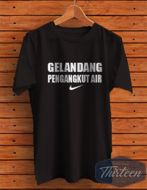 Kaos Original Baju Bola Futsal Unik Gelandang Pengangkut Air Kualitas Distro - Hitam