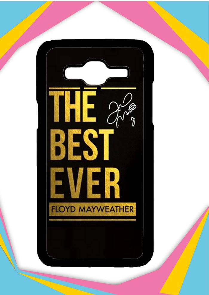 Casing Samsung Galaxy J3 2015 Custom Hardcase the best ever mayweather Z5681 Case Cover