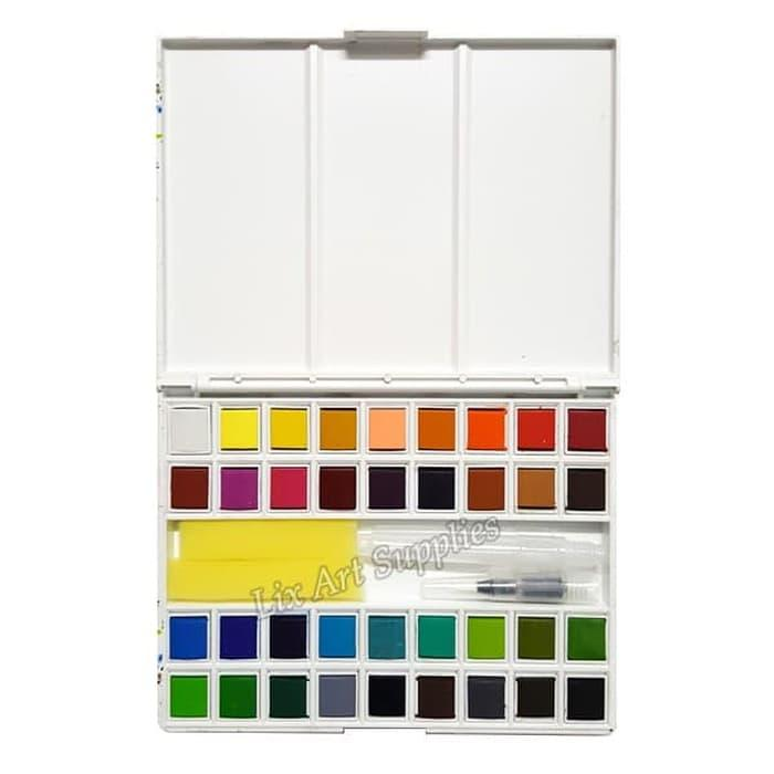 Best Seller Xpression Watercolor Pocket Field Sketch Box 36 / Cat Air
