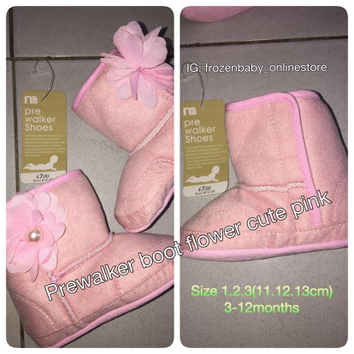 Prewalker Mothercare Pink
