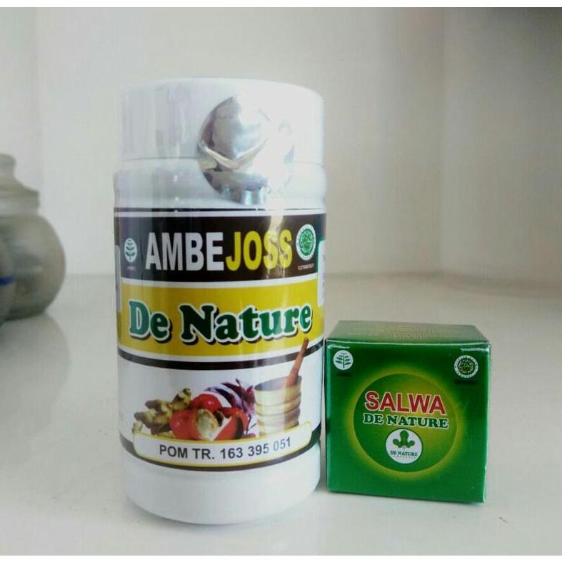 Obat Ambeien Wasir Ambeyen Herbal Ambejoss dan Salep Salwa De Nature